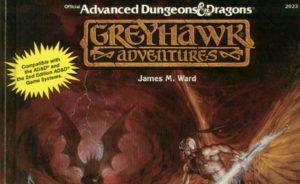 Greyhawk Adventures Cover