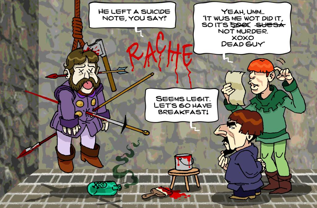 Lord Hackbladder Investigates