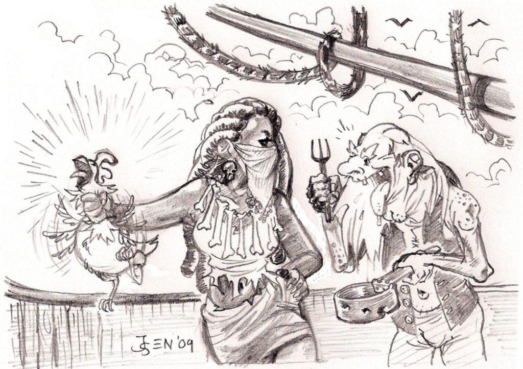 Maya and Old jackson