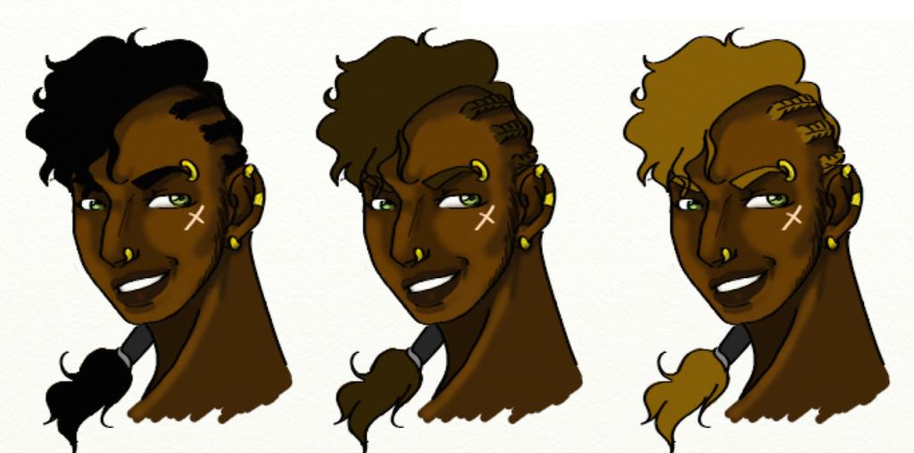 Kasnas - Hair Colour Options