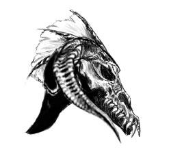 Black Dragon Helm: